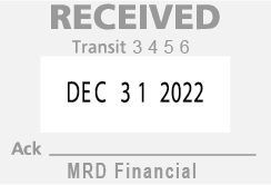 Financial M300 Stamp